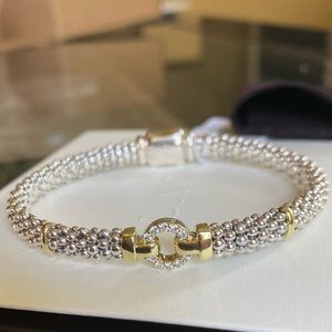 NWT Lagos Enso Diamond Bracelet 6 Inches